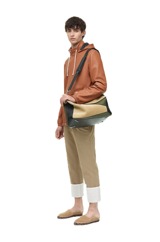 LOEWE Turn Up Chino Trousers 米色 front