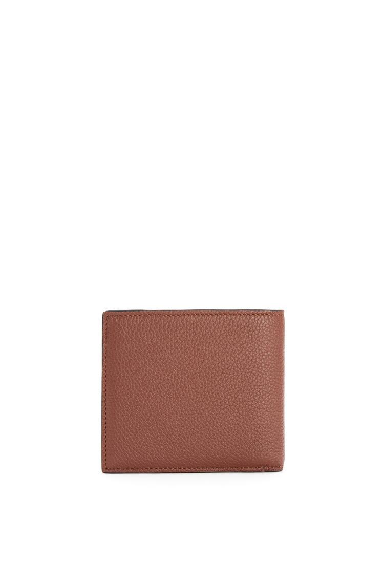 LOEWE Bifold wallet in grained calfskin Cognac pdp_rd