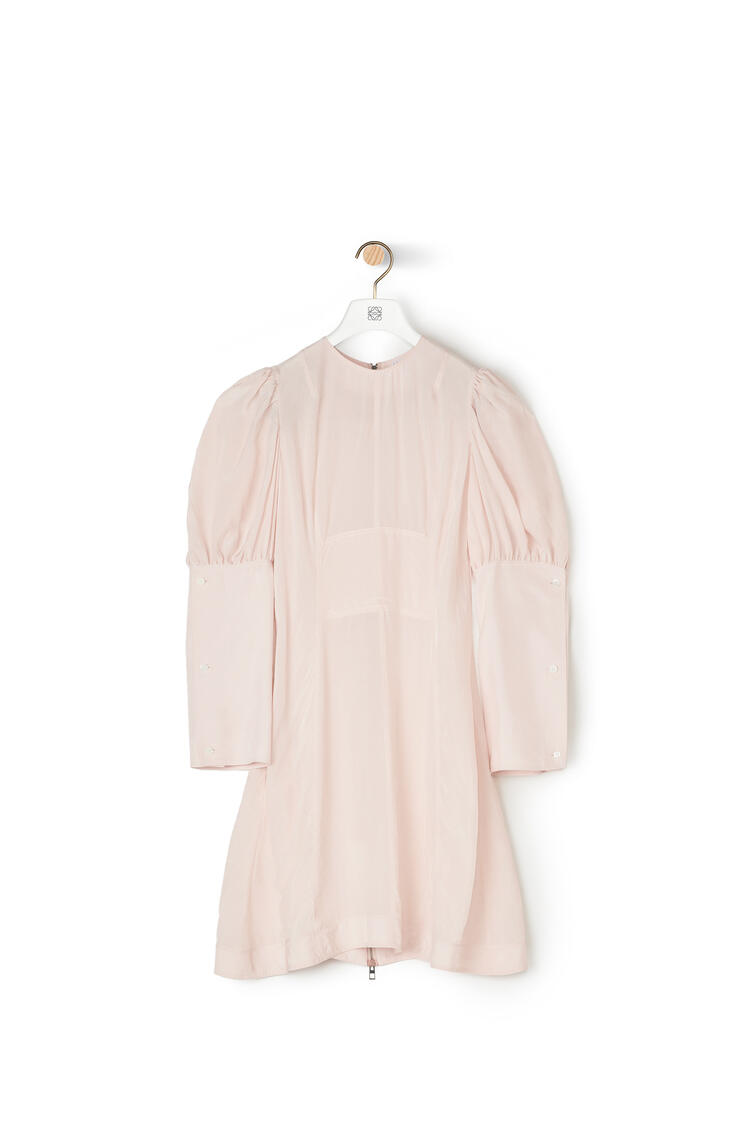 LOEWE バルーン スリーブ ドレス(ビスコース) ピンク pdp_rd