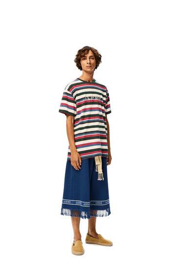 LOEWE LOEWE t-shirt in striped cotton Multicolor pdp_rd