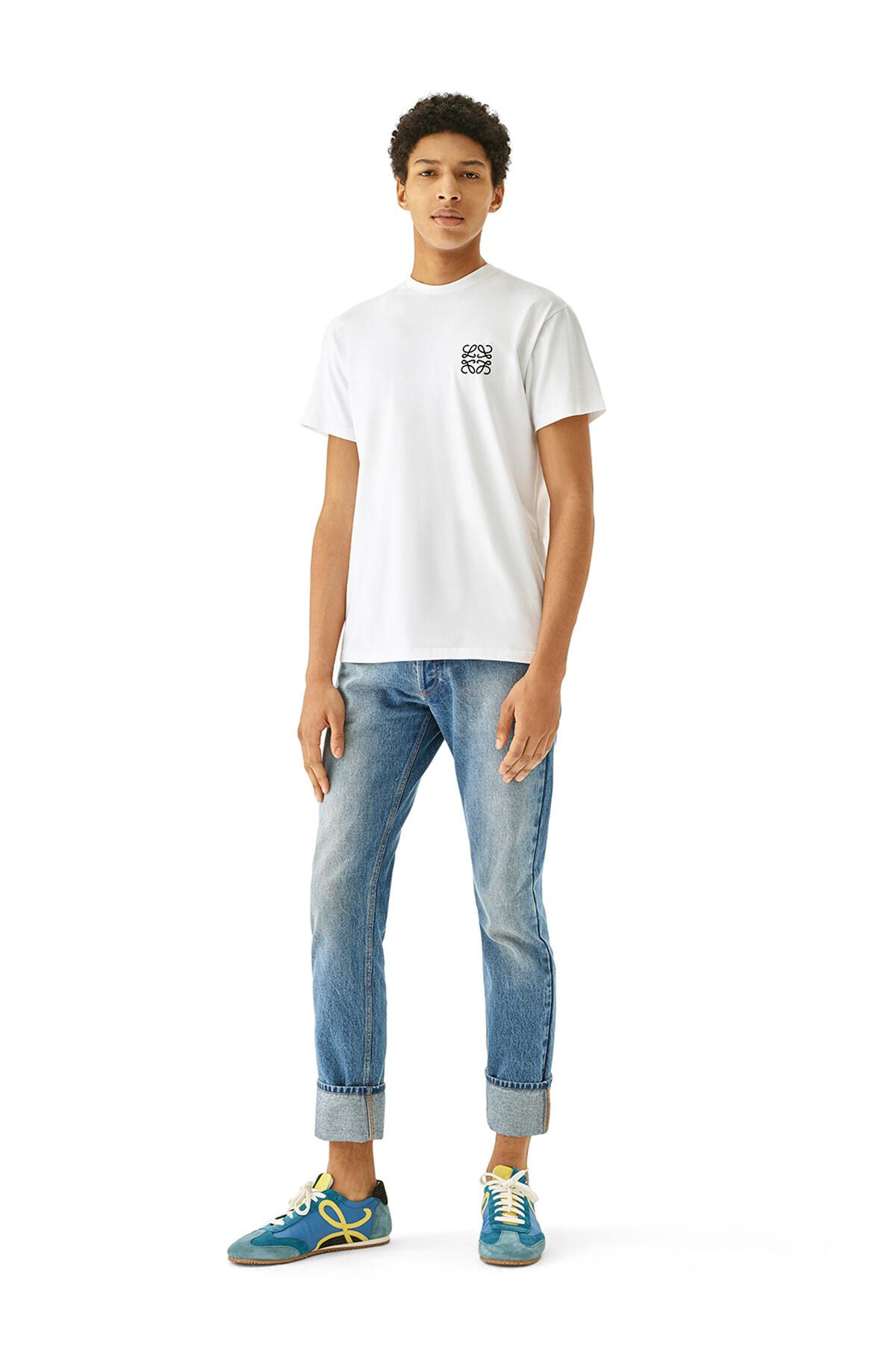 LOEWE 5 Pockets Jeans Denim Lavado front