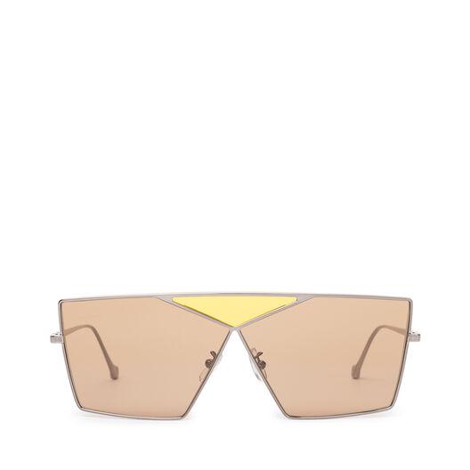 LOEWE Gafas Cuadradas Puzzle Rutenio Claro/Marron front