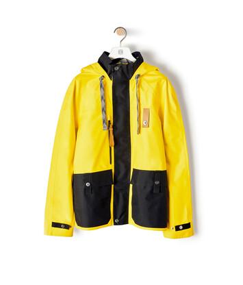 LOEWE Eln Parka Yellow/Black front