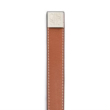 LOEWE Pulsera Wrap Doble Bronceado front