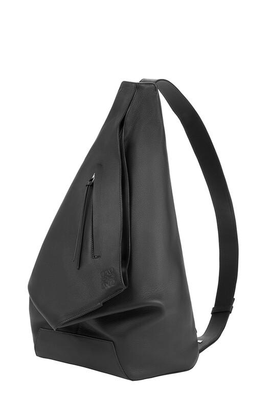 LOEWE Anton Backpack 黑色 front