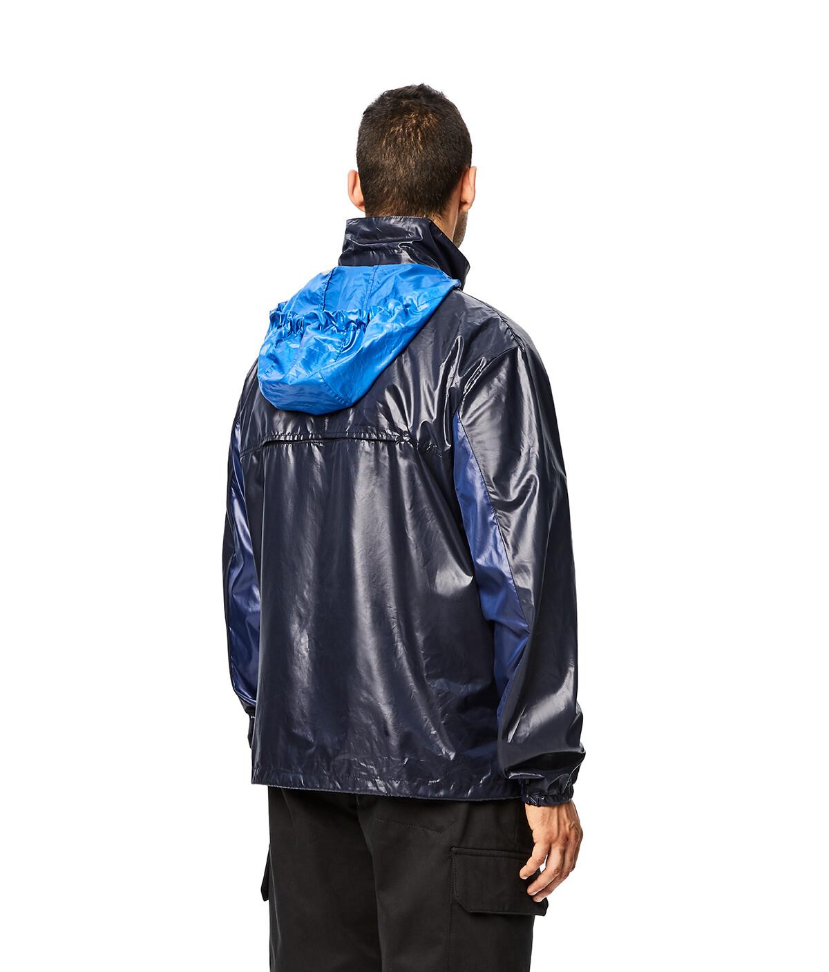 LOEWE Eln Zip Jacket Navy Blue front