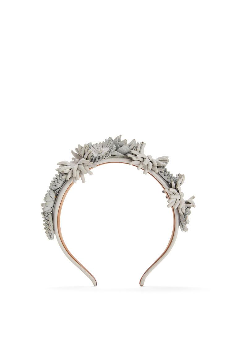 LOEWE Headband in calfskin Soft White pdp_rd