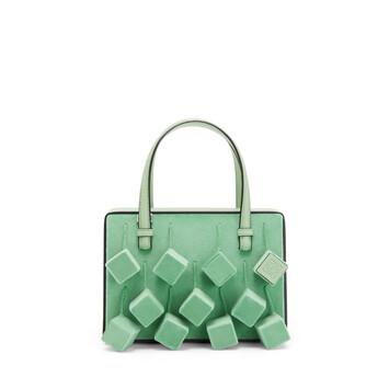 LOEWE Postal Cubo Small Bag Green front