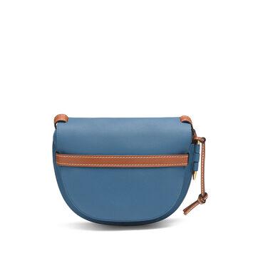 LOEWE Bolso Gate Pequeño Azul Varsity/Color Pecana front