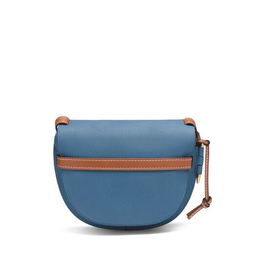 LOEWE ゲートスモールバッグ Varsity Blue/Pecan Color all