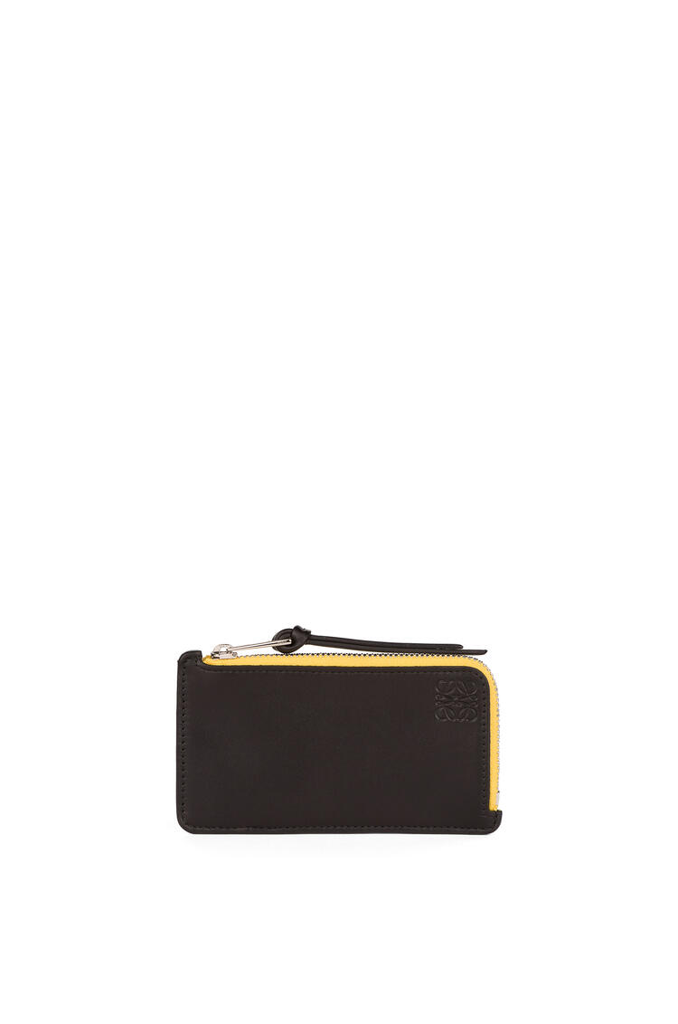 LOEWE Coin cardholder in soft calfskin Multicolor/Black pdp_rd
