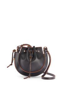 LOEWE Small Horseshoe bag in nappa calfskin Black pdp_rd