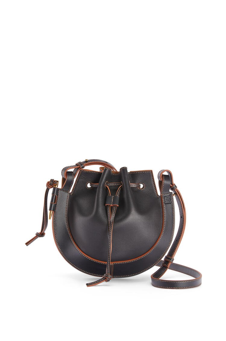 LOEWE Small Horseshoe bag in nappa calfskin Black pdp_rd