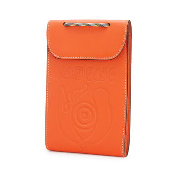 LOEWE Eye/Loewe/Nature Neck Pocket Orange front
