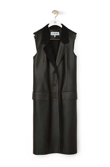 LOEWE Vest Black front