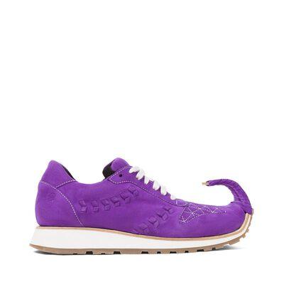 LOEWE Sneaker Dinosaur Purple front