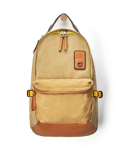 LOEWE Eye/Loewe/Nature Backpack Gold front