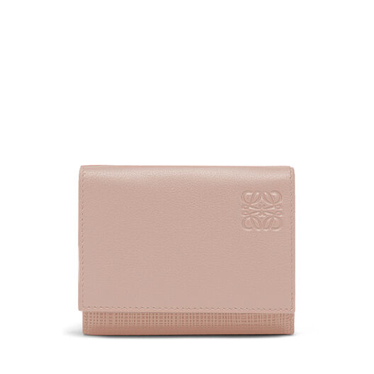 LOEWE Trifold Wallet Blush front