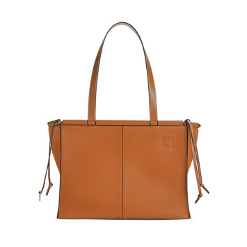LOEWE Cushion Tote Light Caramel front