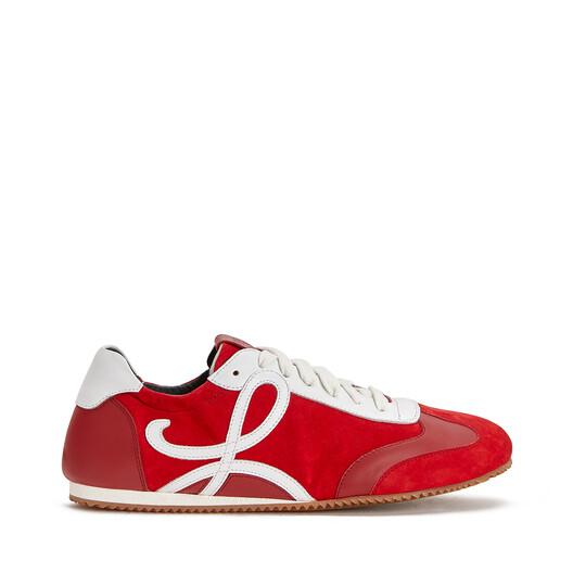 LOEWE Ballet Runner Red/White front