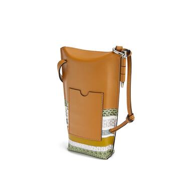 LOEWE Gate Pocket Marine Honey/Multicolor front