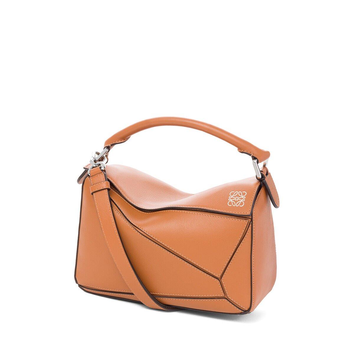 Puzzle Small Bag Tan LOEWE