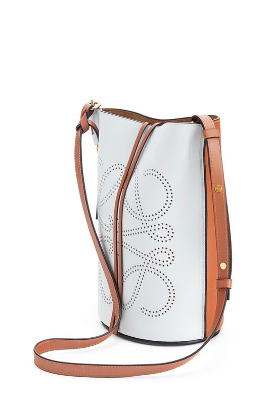 LOEWE Gate Bucket Anagram Bag Kaolin/Tan front