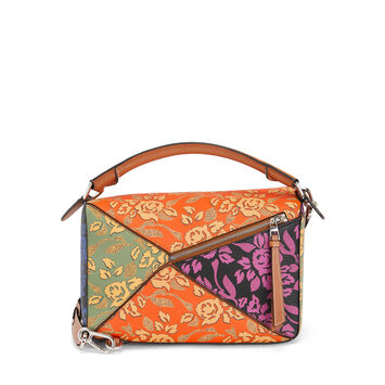 LOEWE Bolso Paula´S Puzzle Patchwork Multicolor front
