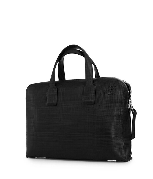 LOEWE Goya Thin Briefcase 黑色 front