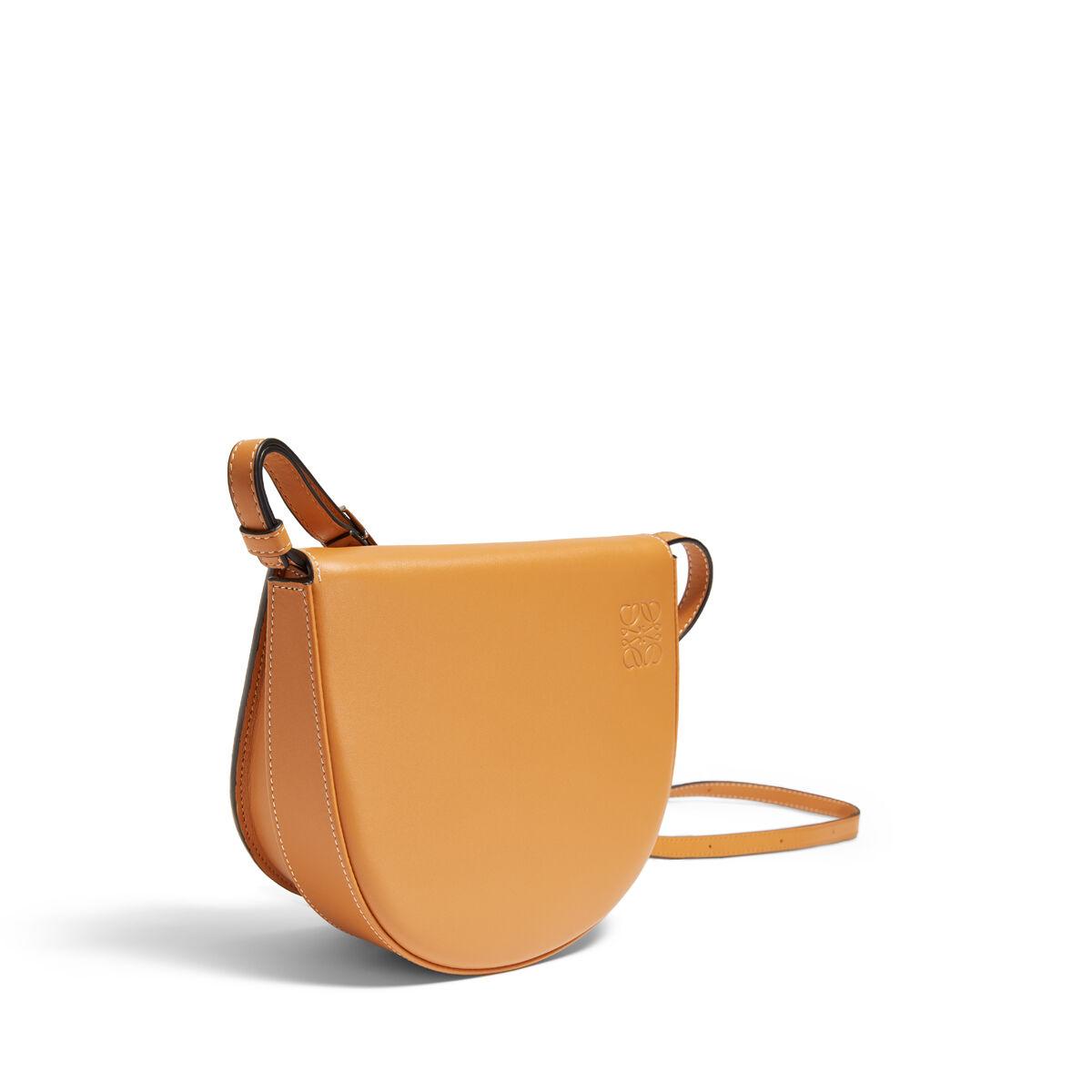 LOEWE Heel Mini Bag Amber all