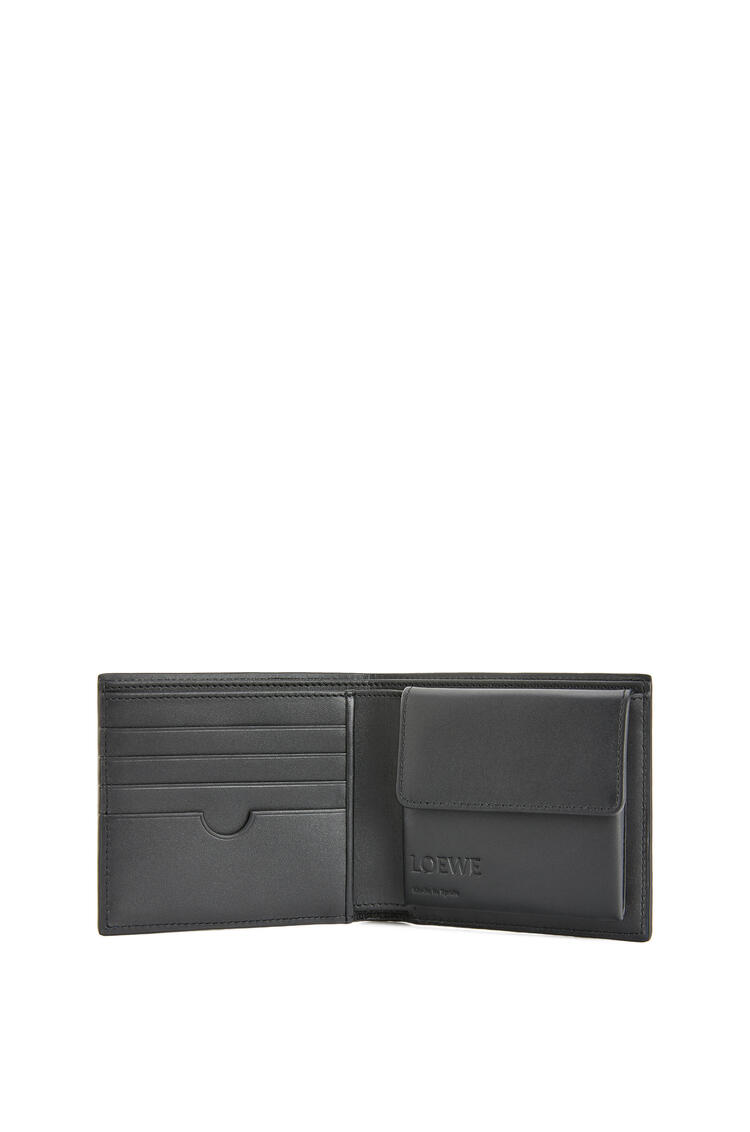 LOEWE Bifold coin wallet in smooth calfskin Indigo pdp_rd