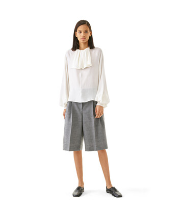 LOEWE Shorts Gris front