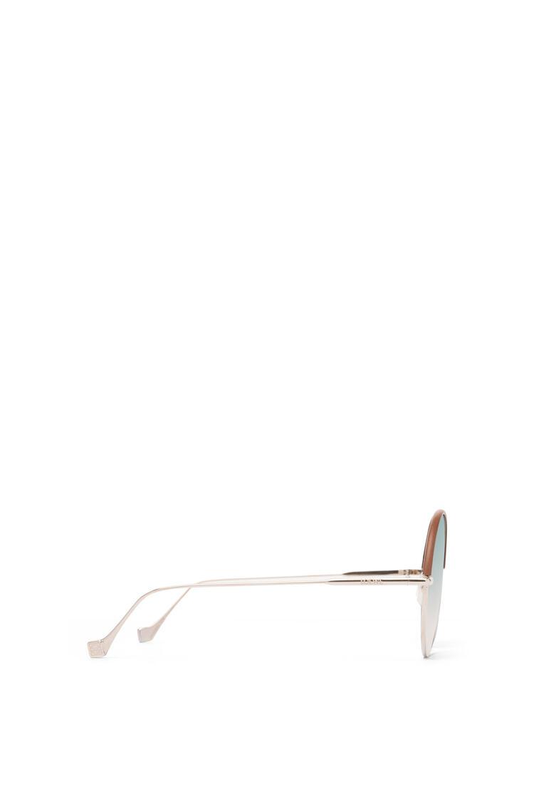 LOEWE Round Sunglasses Brown/Gradient Sand pdp_rd