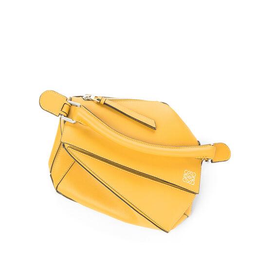 LOEWE Bolso Puzzle Pequeño Amarillo Mango all