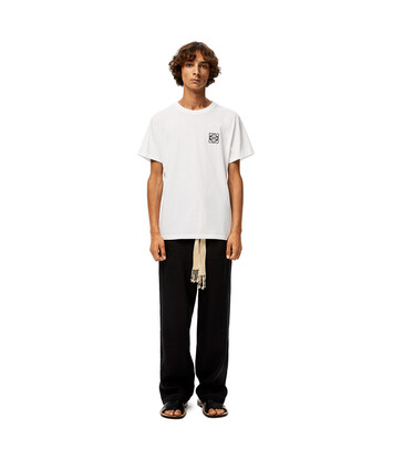 LOEWE Anagram T-Shirt 白 front