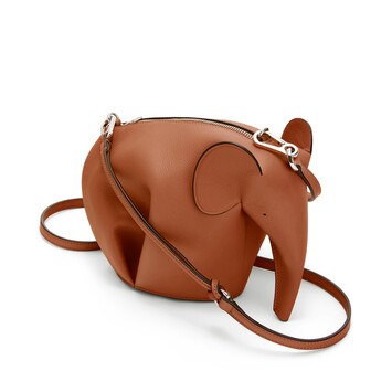 LOEWE Elephant Mini Bag Tan front