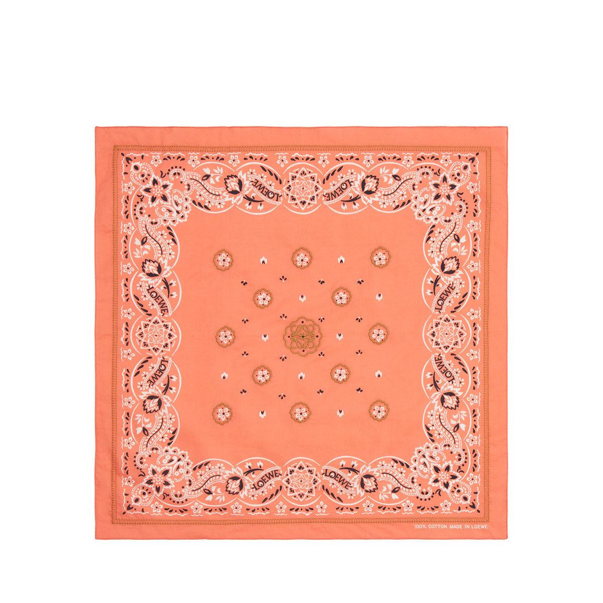 LOEWE 50X50 Bandana Embroideries 红色 all