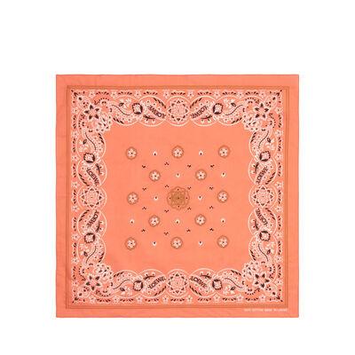 LOEWE 50X50 Bandana Embroideries Rojo front