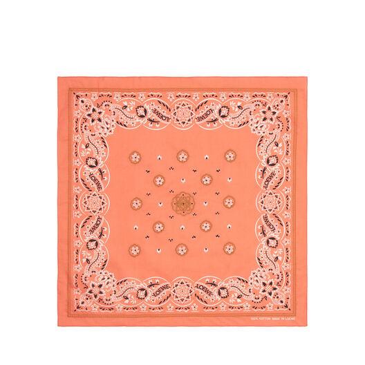LOEWE 50X50 Bandana Embroideries Rojo all