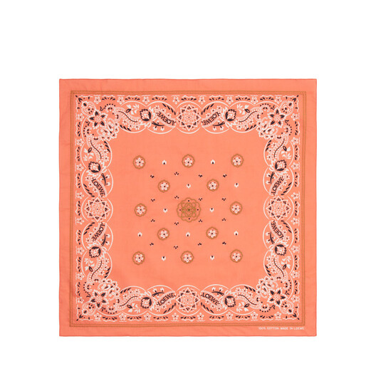 LOEWE 50X50 Bandana Embroideries Red front