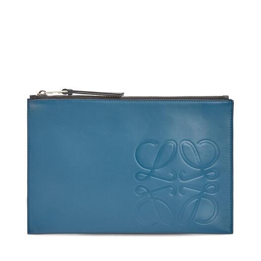 LOEWE 扁平手包 靛蓝色 front