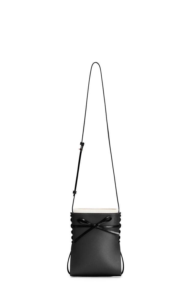 LOEWE Ikebana bag in calfskin Black pdp_rd