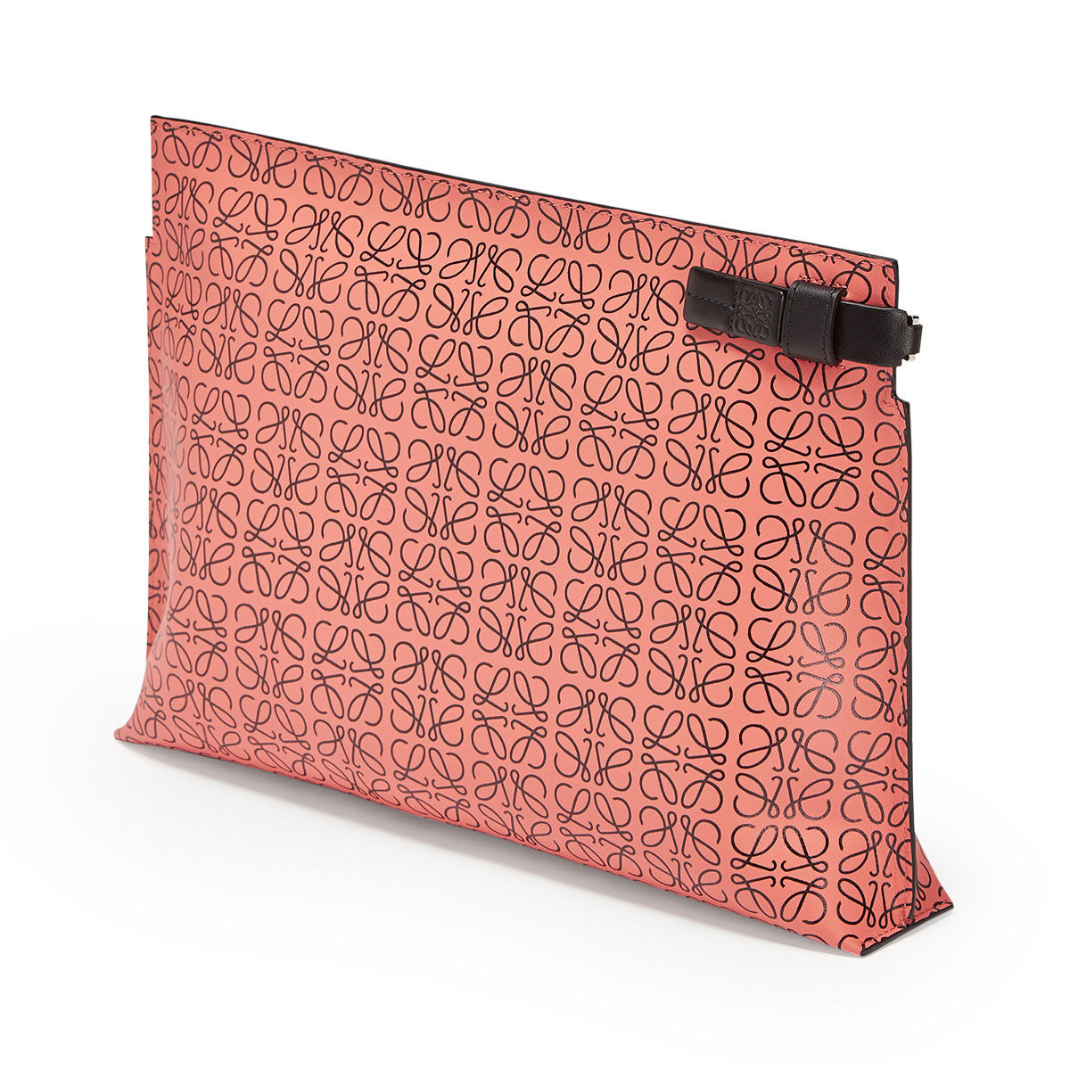 LOEWE T Pouch Repeat Rosa Tulipan/Negro all