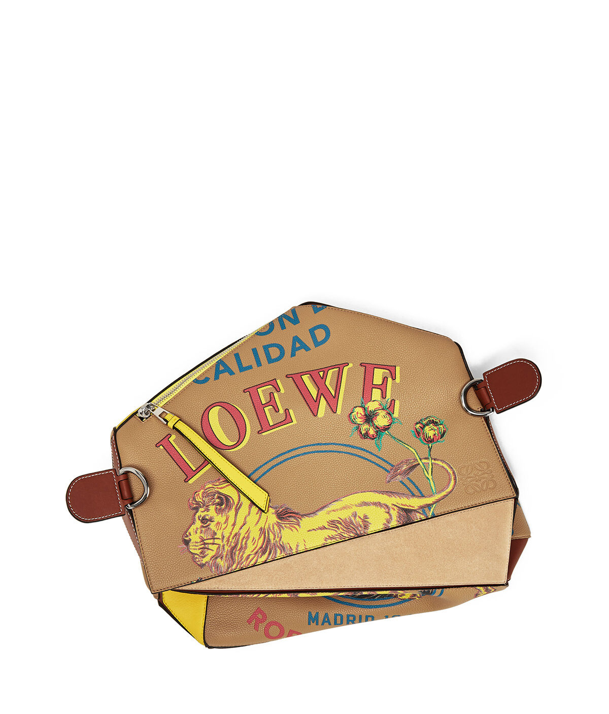 LOEWE Puzzle Lion Xl Bag Desert all