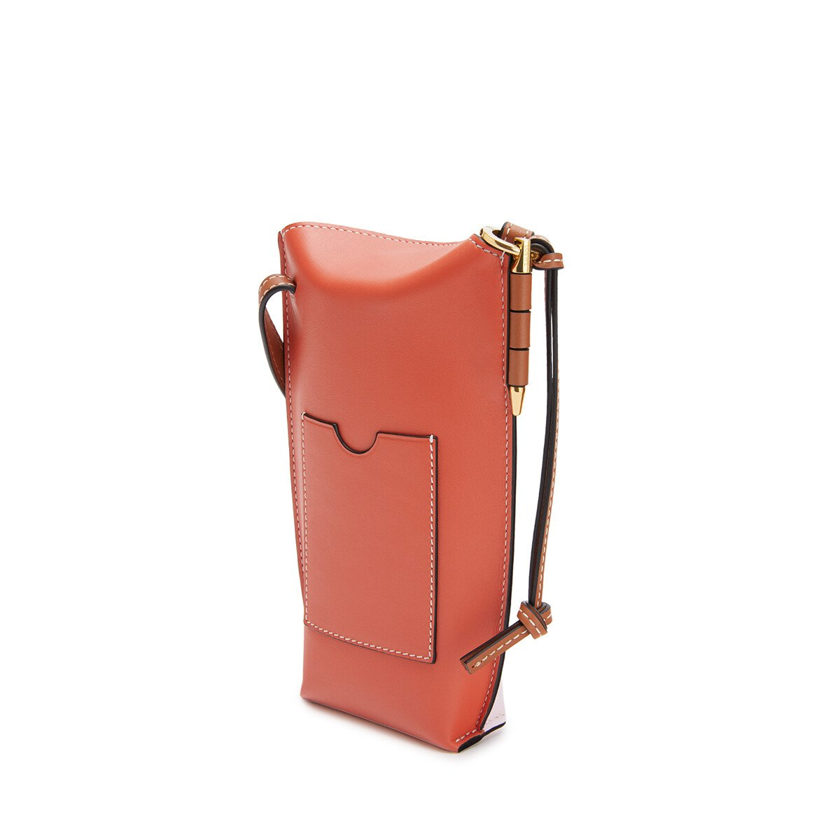 LOEWE ゲート ポケット Soft Pink/Coral front