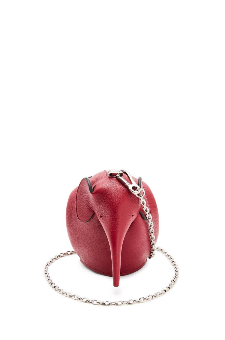 LOEWE Elephant Pouch in classic calfskin Deep Red pdp_rd