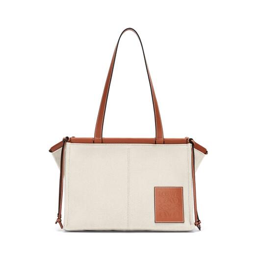 LOEWE Cushion Tote Bag Light Oat front