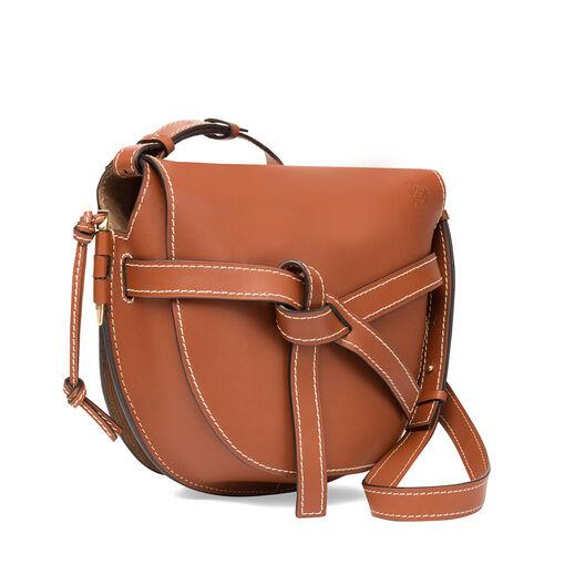 LOEWE Gate Bag Rust Color front