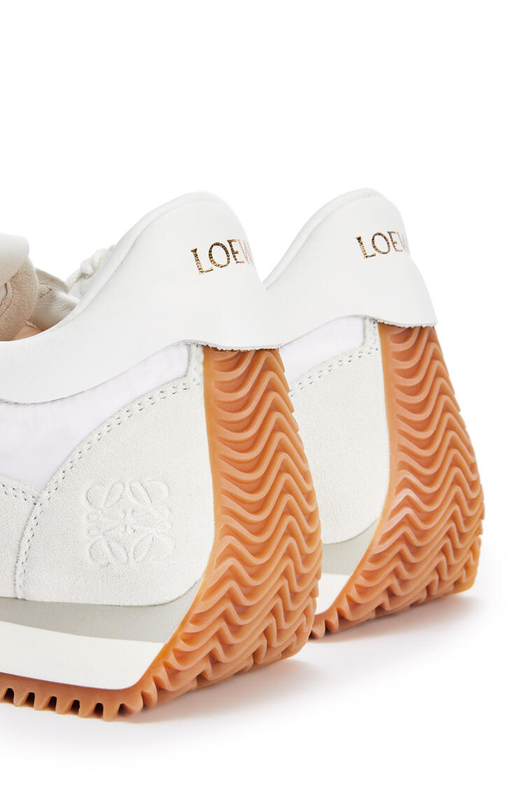 LOEWE Flow runner in nylon White pdp_rd