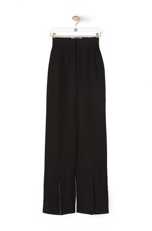 LOEWE Slit Trousers Negro front